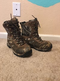 Womens insulated hunting boot size 8