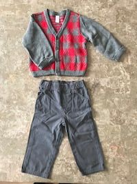 toddler's red and black pants Philadelphia, 19116