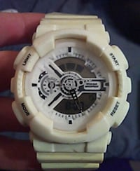 white Casio G-Shock digital watch Alvin, 77511