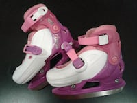 Disney Princess girls adjustable skates, used Toronto, M7A 2G6