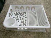 Dish drying rack with draining tray  Baltimore, 21231