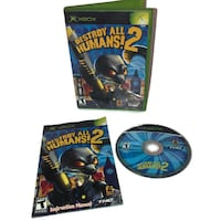 XBox Destroy All Humans! 2 TESTED & COMPLETE with instruction manual Independence