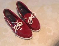 Pair of red Cole Haan Shoes Size 8 Hopkins, 55343