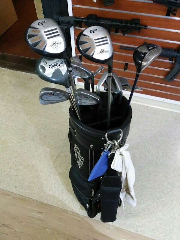 cc05e4915d9f Used Golf club set in Callaway bag. 13 clubs total. for sale in Columbus -  letgo