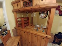 Authentic KnottedPine Wood Bar 43 km
