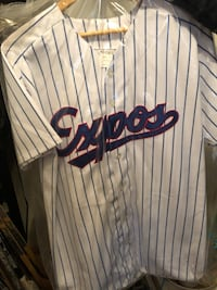 Signed replica Montreal Expos jersey Gatineau, J9J