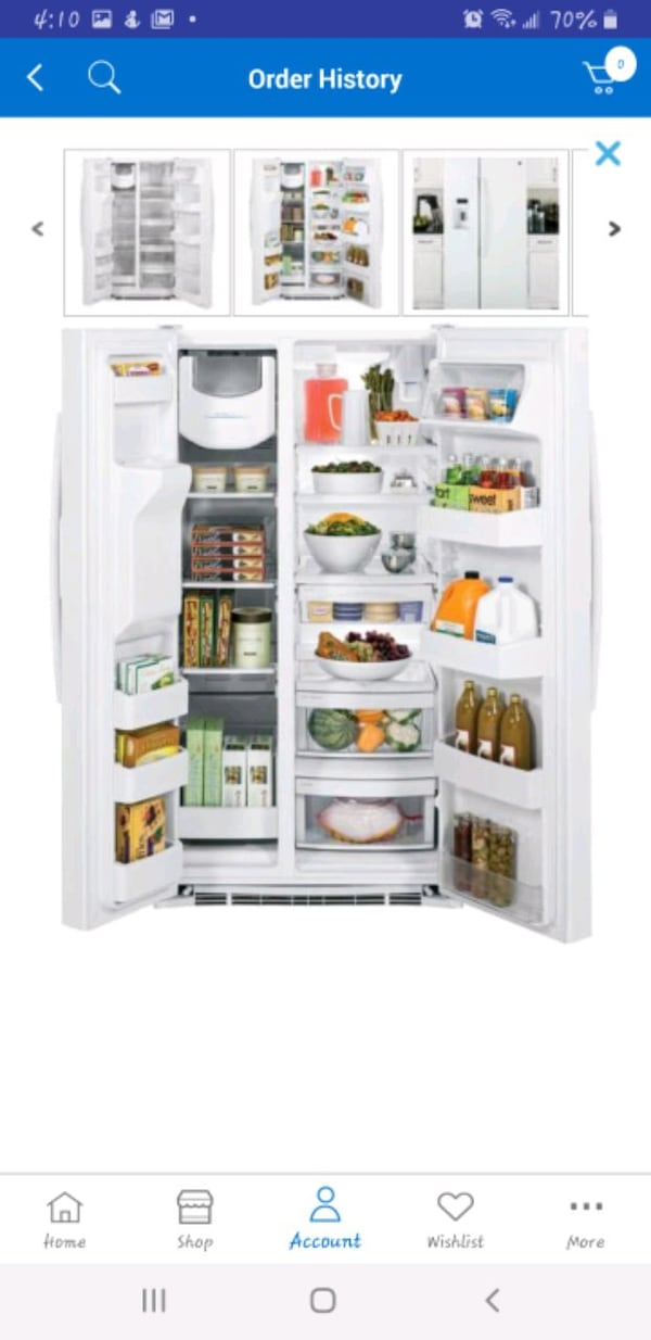 GE 25.4 Cu. Ft. Side-by-side Refrigerator in White fa4a0174-01b0-4196-96c0-0ba2c4099498