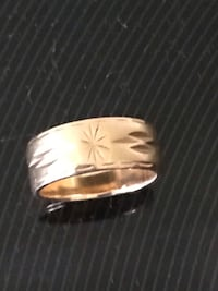 Gold ring Candiac, J5R 4B6