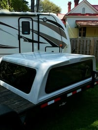 white and black camper shell West Columbia, 29170