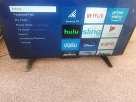 40 inch smart TV with remote