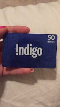 $50 new indigo gift card Richmond Hill, L4S