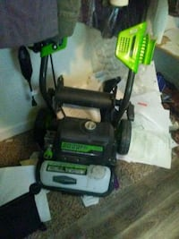 black and green Ryobi pressure washer Oakland, 94607