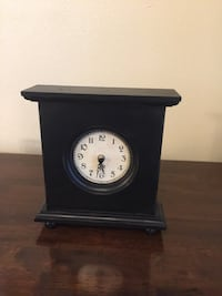 black wooden table clock San Antonio, 78230