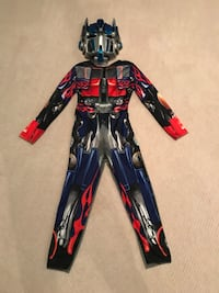 TRANSFORMERS COSTUME AGE 4-6 Fairfax, 22030