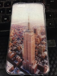 empire state building print iphone case for iPhone 6