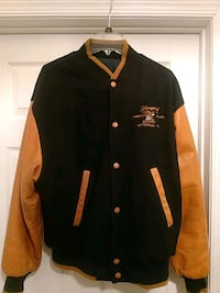 Yuengling Wool  and Leather Jacket Perkasie, 18944