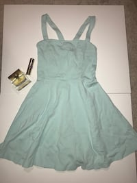 gray spaghetti strap mini dress Toronto, M2M