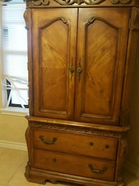 brown wooden cabinet with drawer Laredo, 78041