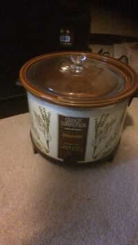 white and brown Crock Watcher slow cooker San Diego, 92128