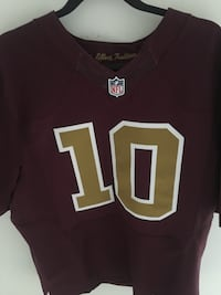 In field RG3  redskins jersey Centreville, 20121