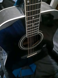 Black Epiphone Guitar