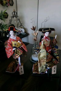 2 Japanese Collectable Dolls Brampton, L6Y 4W6