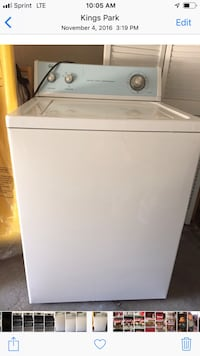 white top-load clothes washer 258 mi