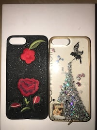 black and pink floral iPhone case Tempe, 85281