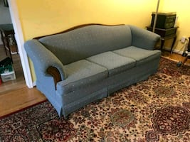 Sofa and Two Wing Chairs