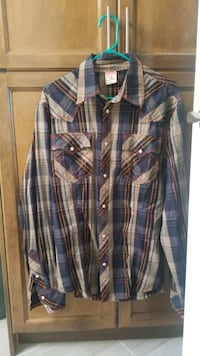 True religion button up