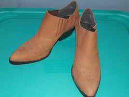 New condition suede ankle boots