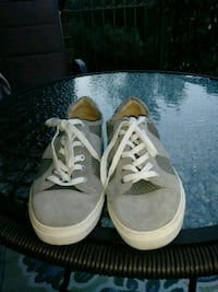 Vince Camuto  gray-and-white sneakers Alexandria, 22304