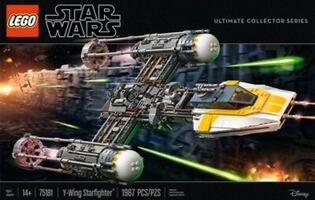 Star Wars Ultimate Collector Y-Wing Starfighter by Lego