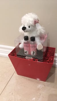 white and red bear plush toy 541 km