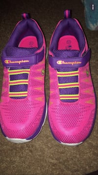 Girls size 5in a half running shoes