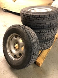 """Winter Tires 17"""" with TPMS sensors for Ford F-150"""