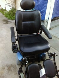black and blue powered wheelchair Stockton, 95203