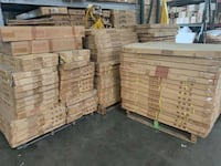 pile of assorted color cardboard boxes Walnut, 91789