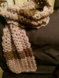 Scarf and boot set
