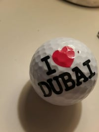 Dubai golf topu
