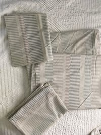 Pair Martel flat sheets Percal matching pillow cases Greenville, 29609