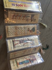Papyrus bookmarks from Egypt Hull, J8X
