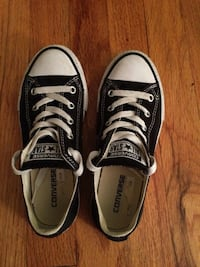 Black and white converse all star high tops. Su Point Pleasant, 08742