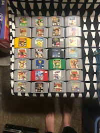 Nintendo N64 Games ASK EACH PRICE  Brantford, N3V