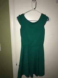women's green shoulder-cap midi dress Virginia Beach, 23454
