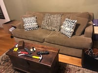 Couch/ Loveseat from Roys Furniture with sleeper mattress  Chicago, 60640