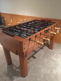 Brown conversion game/Foosball table Stoystown, 15563