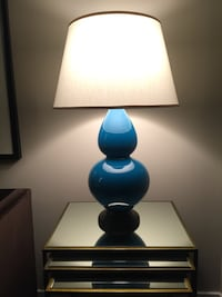 Table Lamp-Double Gourd Ceramic Lamp