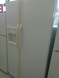 white side-by-side refrigerator Mount Clemens, 48043