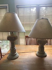 Ornate table lamps Columbia, 21044